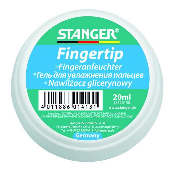 Гель для увлажнения пальцев STANGER 20 мл, круглый