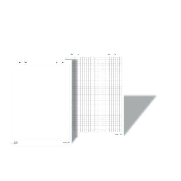 Блок для флипчарта, 58×83 см, белый, 10 листов