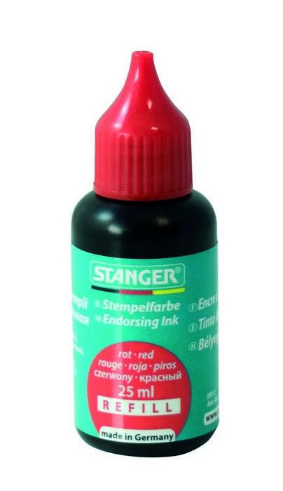 Краска Stanger 25 мл, красная