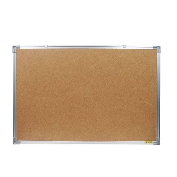 Доска пробковая inФОРМАТ 60×90 см алюминиевая рама