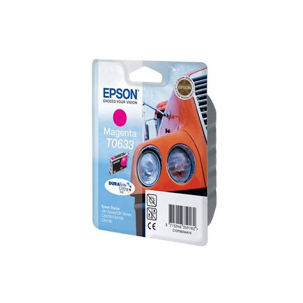 Картридж пурпурный Epson (T06334A) Stylus C67/87/CX3700/4100/4700, ресурс 250 стр.