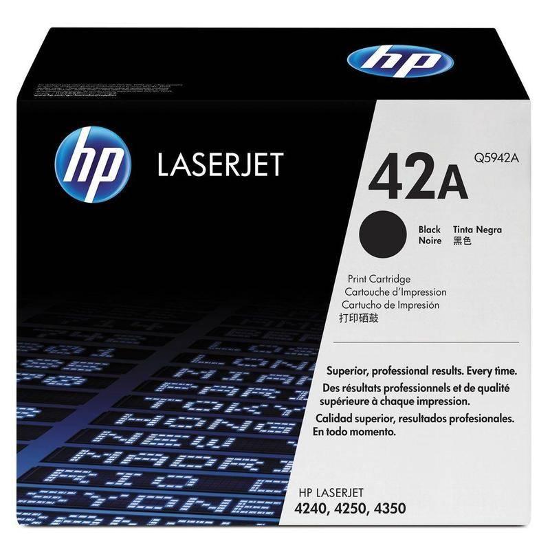 Картридж лазерный HP 42А для LJ 4250/4350 черный, 10 000 страниц