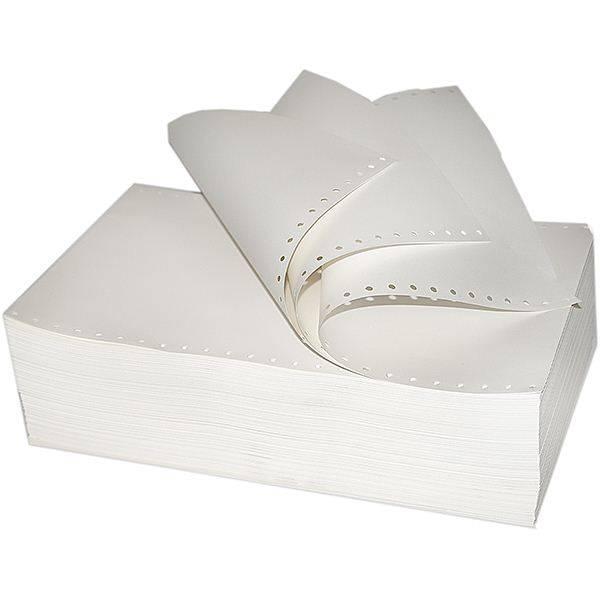 Бумага однослойная с неотрывной перфорацией STARLESS 420 мм 12 » 1600 листов