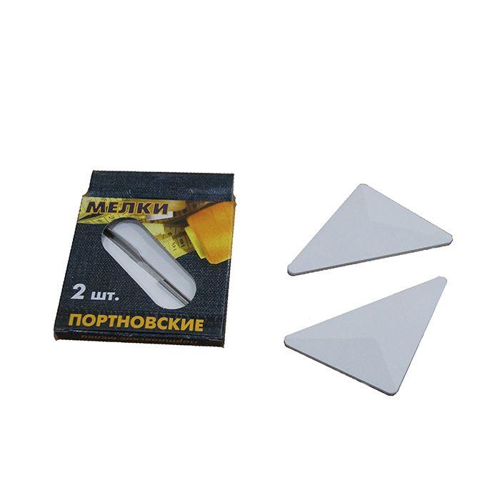 Мелки белые портновские КВАРТЕТ 2 штуки, картонная упаковка, европодвес