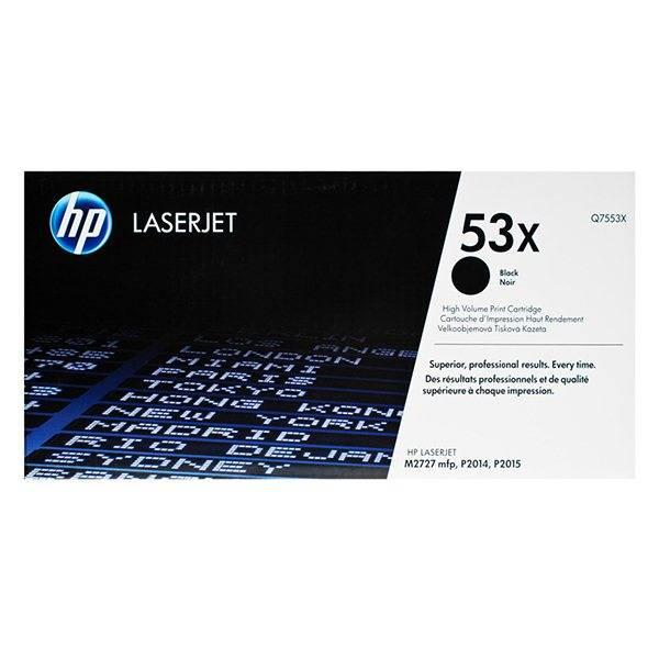 Картридж черный HP (Q7553X) LJ 2015,№53X, ресурс 7000 стр.