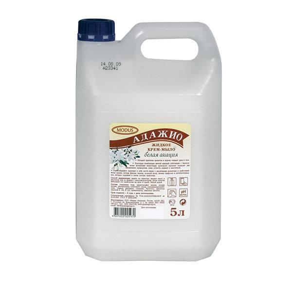 Жидкое мыло АДАЖИО Акация 5 л (канистра)