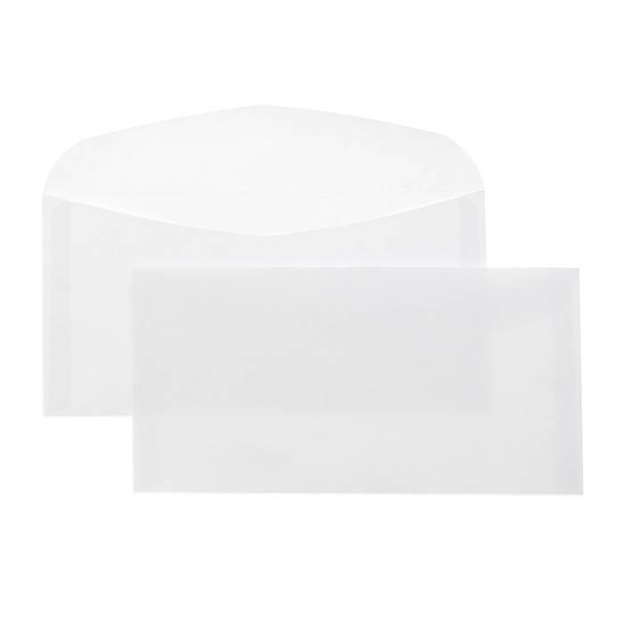Конверт почтовый Е65 (110х220) декстрин