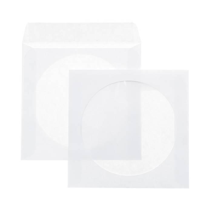 Конверт для CD (125х125) ОКНО стрип