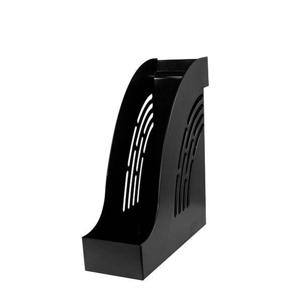 Лоток вертикальный inФОРМАТ ширина 95 мм, черный пластик
