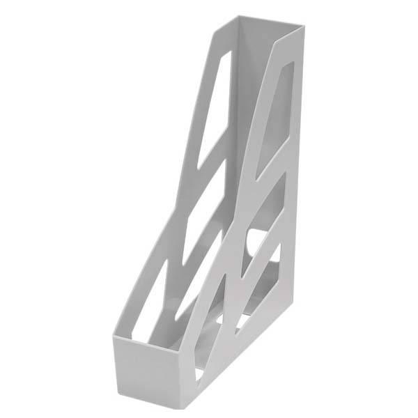 Лоток вертикальный СТАММ ЛИДЕР 70 мм, серый пластик