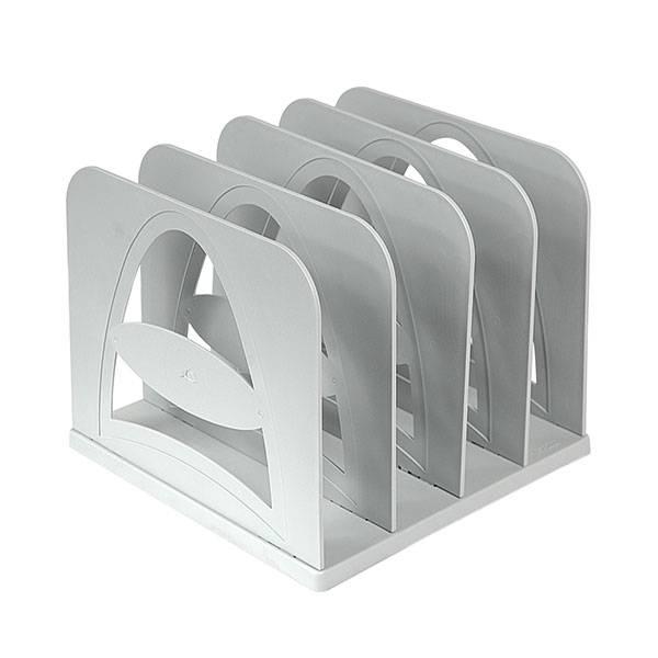 Сортер СТАММ сборно-разборный 4 секции, 210х210 мм, серый пластик