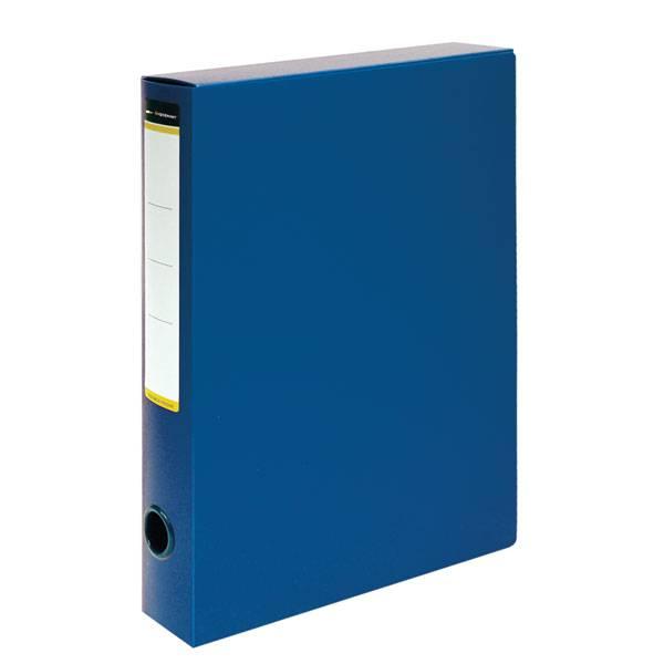 Короб архивный inФОРМАТ 56 мм А4, синий, пластик, собран