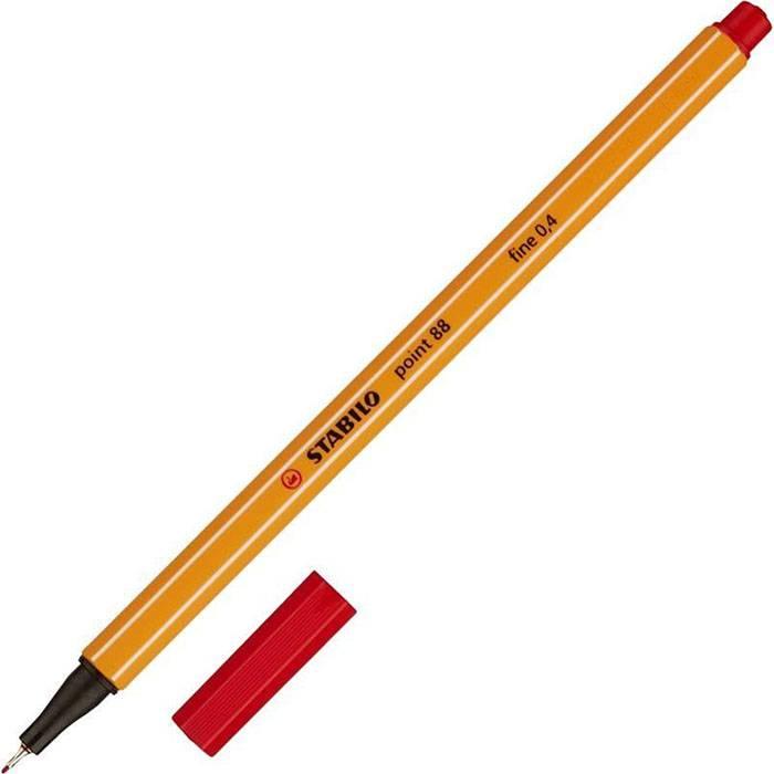 Линер POINT 0,4 мм красный