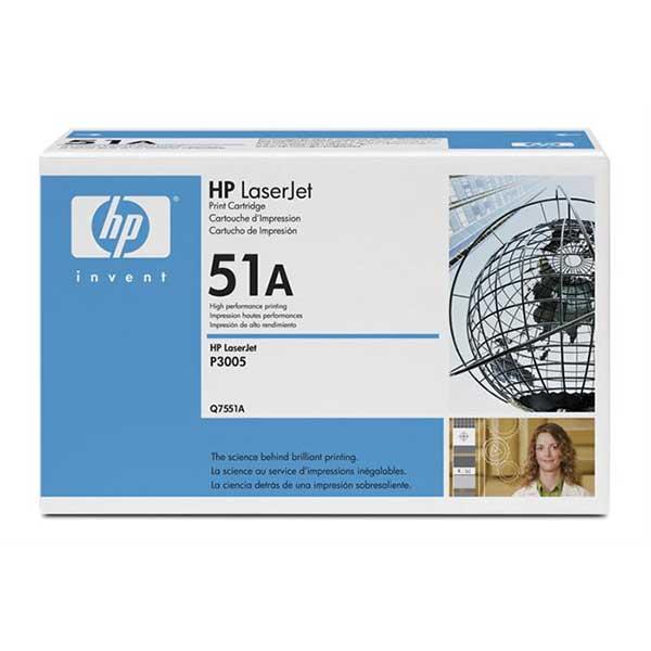 Картридж черный HP (Q7551A) LJ P3005/M3035mfp/M3027mfp,№51A, ресурс 6500 стр.