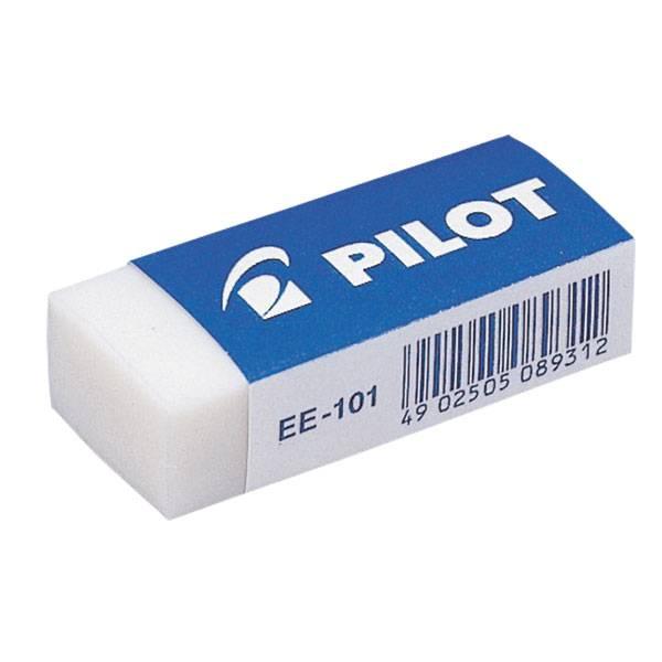 Ластик PILOT 42х18х11 мм винил, картонный держатель