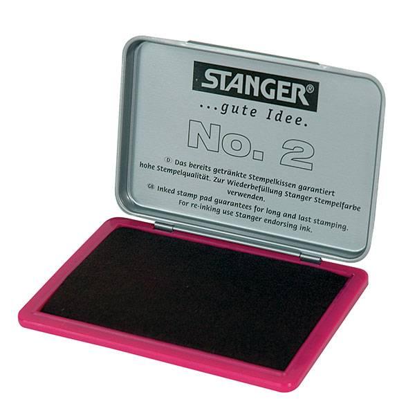 Подушка штемпельная Stanger 70х110 мм, фиолетовая металл