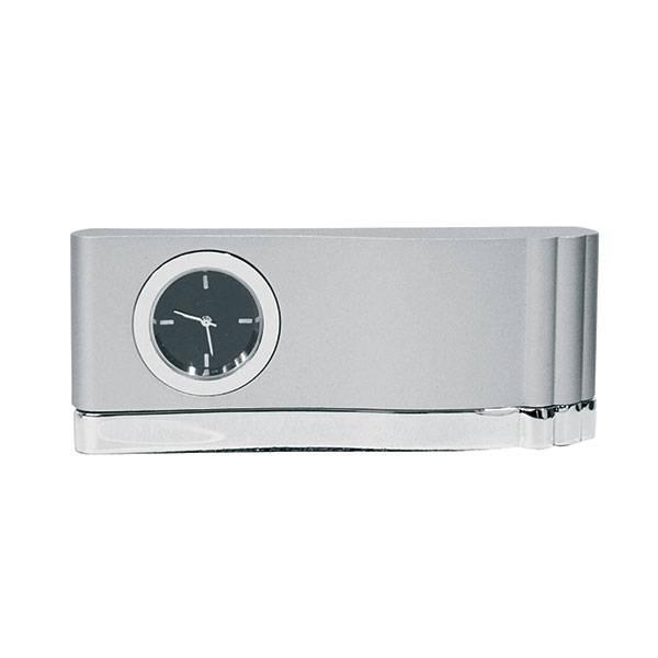 Часы настенные металл прямоугольные круглый циферблат серый