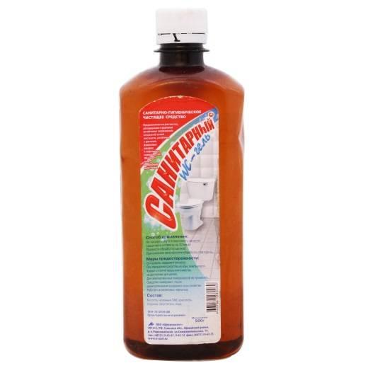 Чистящее средство для унитаза, гель САНИТАРНЫЙ 500 мл