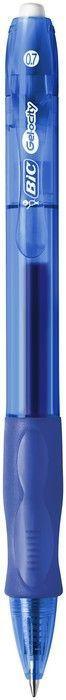 Ручка гелевая автоматическая VELOCITY GEL, синий, круглый корпус