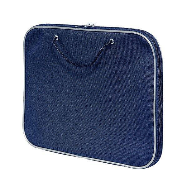Папка-планшет А4.нейлон синий