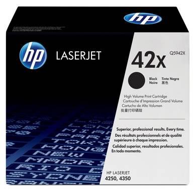 Картридж лазерный HP 42X для LJ 4250/4350 черный, 20 000 страниц