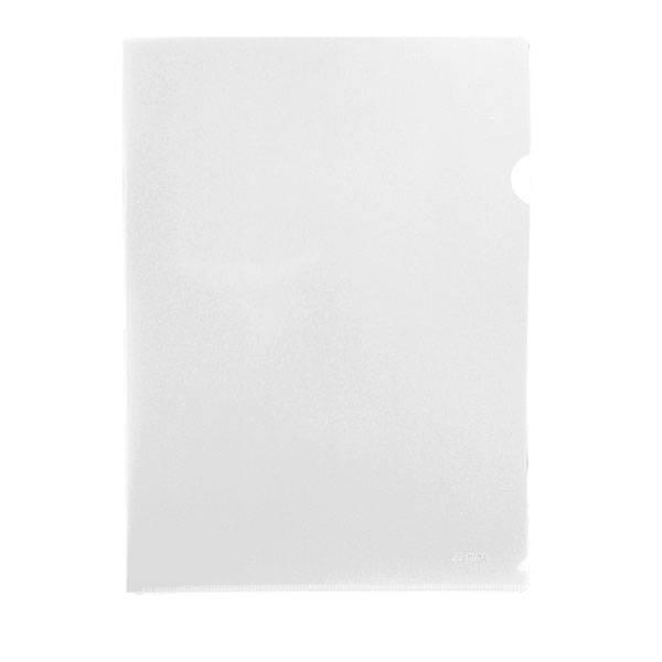 Папка-уголок STANGER А4, прозрачный пластик 200 мкм