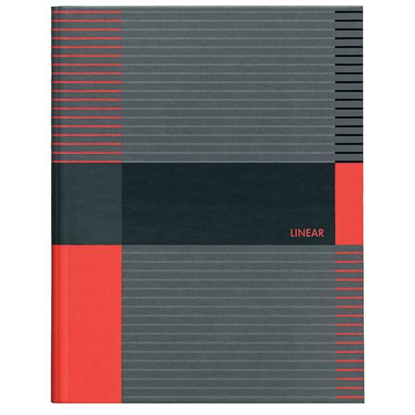 Тетрадь со сменным блоком 120 листов ЛИНЕР А5 на кольцах, твердая обложка