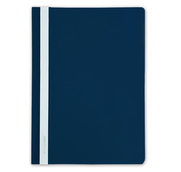 Папка-скоросшиватель inФОРМАТ А4, синий, пластик 150 мкм, карман для маркировки