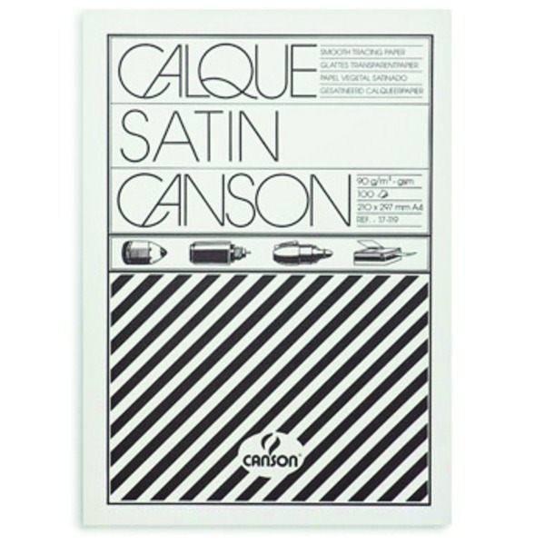 Калька CANSON в папке А4 100 л. 90 г/м2
