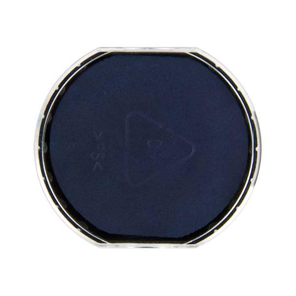 Подушка штемпельная для R45, 45 мм синяя пластик