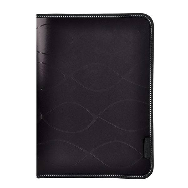 Папка на молнии inФОРМАТ SAFE А4 пластик 500 мкм карман черная