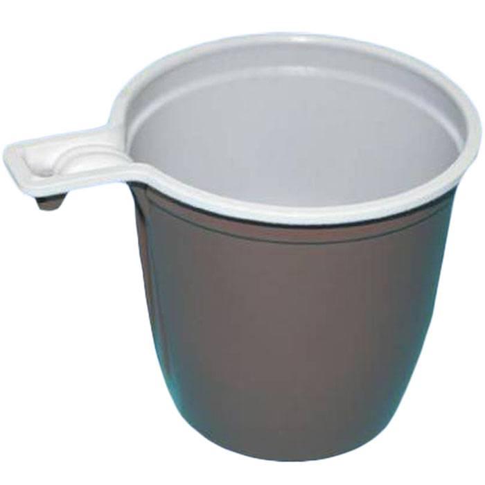 Чашка одноразовая для чая и кофе 182-200 мл ассорти