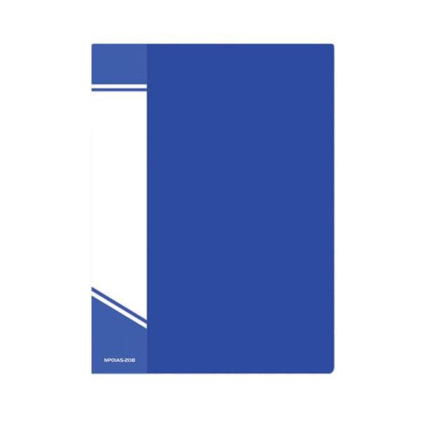 Папка с файлами inФОРМАТ А5 20 файлов, пластик 550 мкм, карман для маркировки