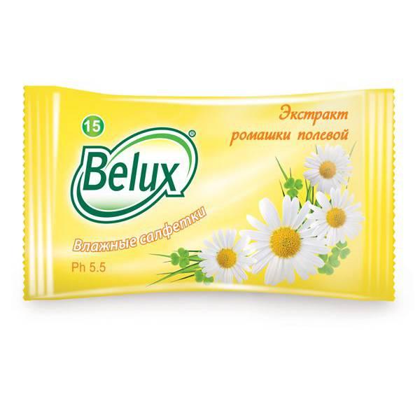 Салфетки влаж. BELUX mix 15 шт