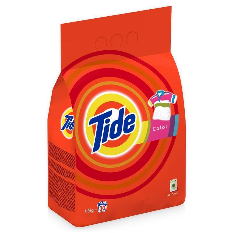 Стиральный порошок автомат TIDE Color 4,5 кг