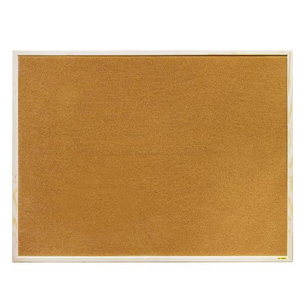 Доска пробковая inФОРМАТ 90×120 см деревянная рама
