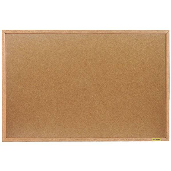 Доска пробковая inФОРМАТ 60×90 см деревянная рама