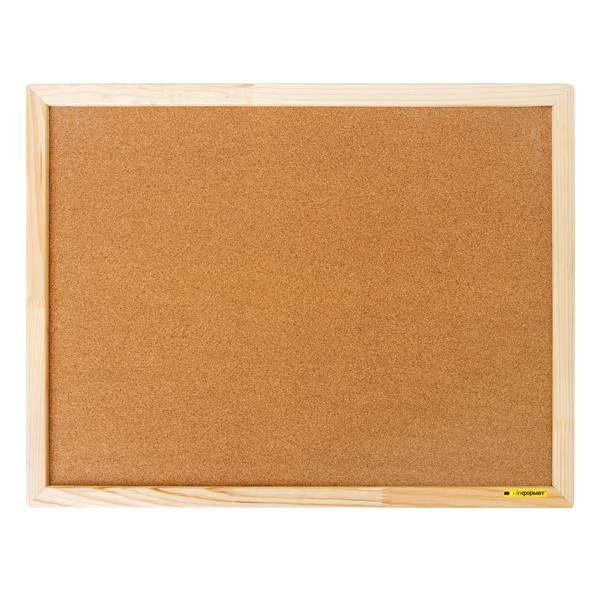 Доска пробковая inФОРМАТ 45×60 см деревянная рама