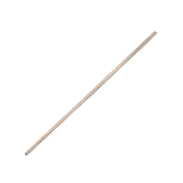 Черенок 1,2-1,25 м березовый для граблей и метел