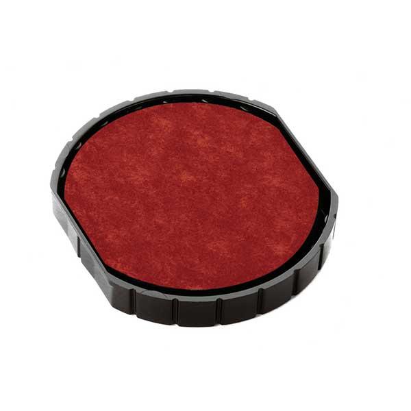 Подушка штемпельная для R45, 45 мм красная пластик