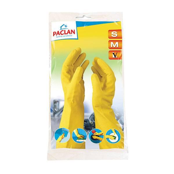 Перчатки PACLAN PROFESSIONAL с х/б напылением, размер L