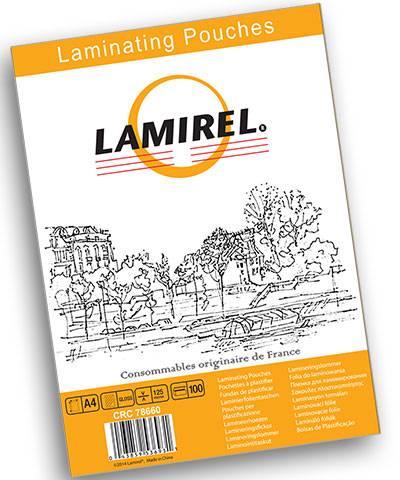 Пленка для ламинирования LAMIREL А4 125 мкм