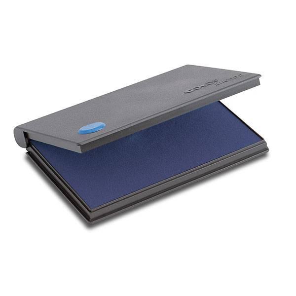 Подушка штемпельная 70х110 мм синяя пластик