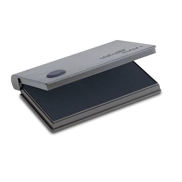 Подушка штемпельная 70х110 мм черная пластик