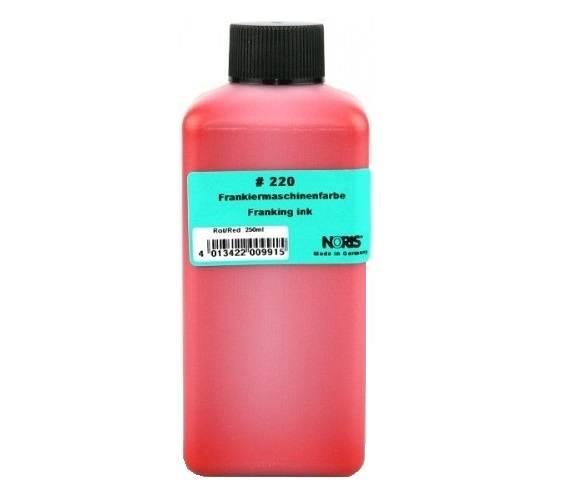 Краска для франкировальных машин, 250мл, красная