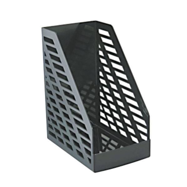 Лоток вертикальный СТАММ XXL 160 мм, черный пластик