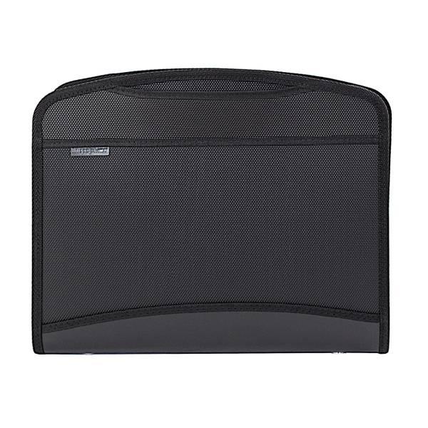 Портфель inФОРМАТ А4, 2 отделения, пластик 1000 мкм, выдвижные ручки, черный