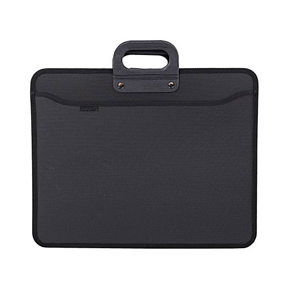 Портфель inФОРМАТ А3, 4 отделения пластик 900 мкм, черный