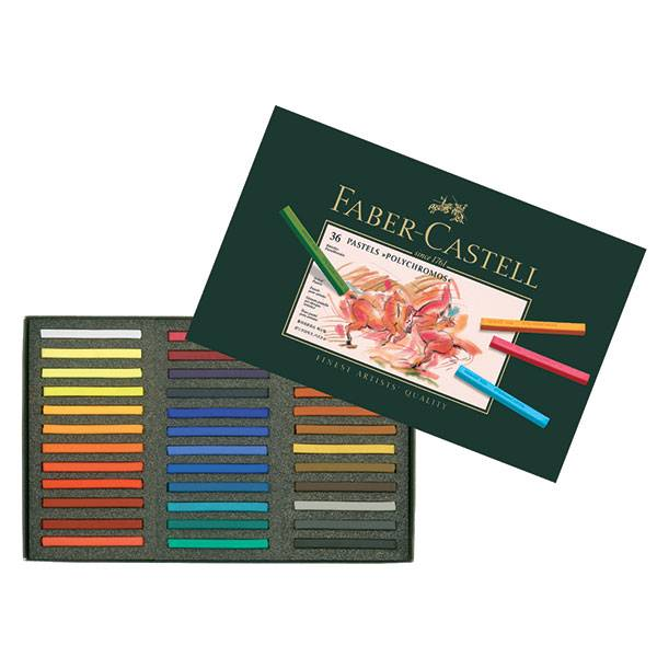 Пастель POLYCHROMOS 36 цветов, картонная коробка