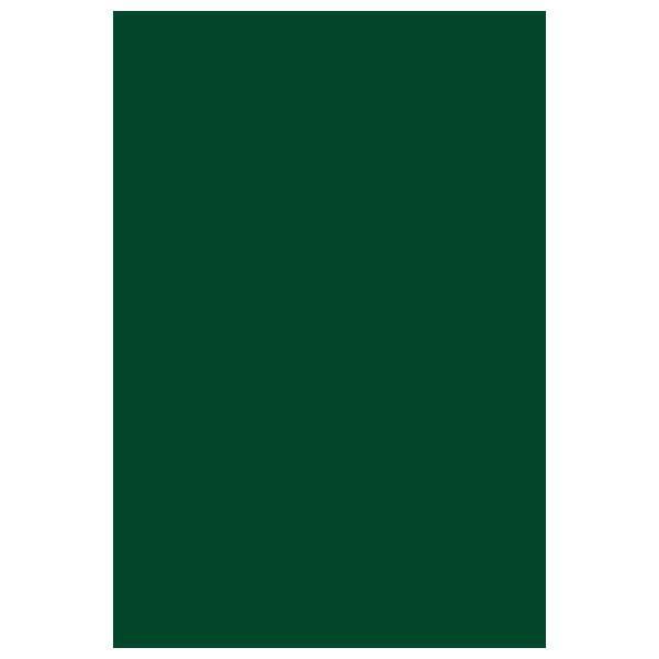 Блокнот ЗЕЛЕНЫЙ А6 на гребне, 50 листов
